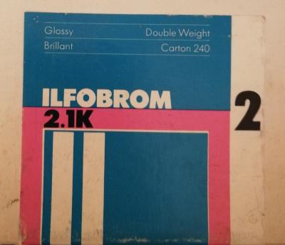 Ilfobrom photogrtaphic paper box